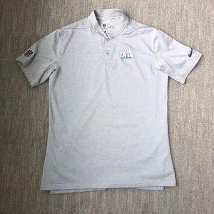 NIKE Super Bowl LIII Blade Collar Golf Shirt